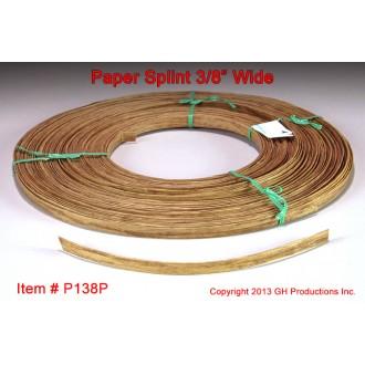 Paper Splint, 3/8 inch wide, 1 pound coil