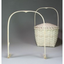 Feather Basket Handle, 10 inch spread