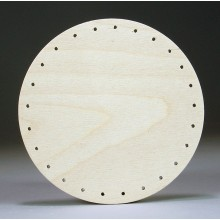 Drilled Base - 6 inch Round