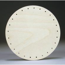 Drilled Base - 6 inch Round