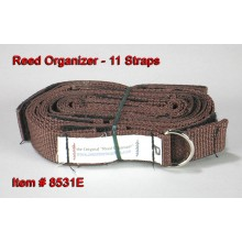 Reed Organizer with 11 Straps