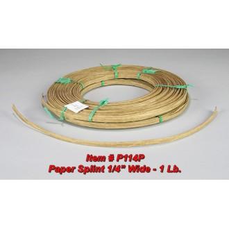 Paper Splint, 1/4 inch wide, 1 pound