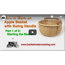 How to Make an Apple Basket - Video