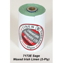 2-PLY Sage Waxed Linen - Spool