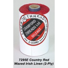 Country Red-Waxed Irish Linen 2-ply - Spool