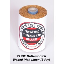 3-PLY Butterscotch Waxed Linen - Spool