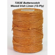 Butterscotch Waxed Irish Linen 12-PLY - Spool