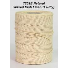 Natural Waxed Irish Linen 12-PLY - Spool