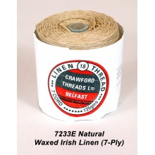 7-ply Natural Waxed Irish Linen