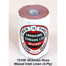 Victorian Rose-Waxed Irish Linen 4-ply - Spool