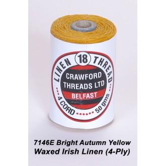 Bright Autumn Waxed Linen 4-ply