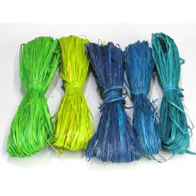 Coastal Spring Raffia - Color Mix