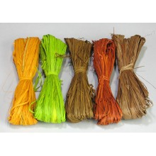 Earthy Tones Raffia - Color Mix