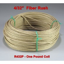 4/32 inch Fiber Rush - SOLD BY THE COIL