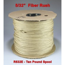 5/32'' Fiber Rush Brown - 10-pound Spool