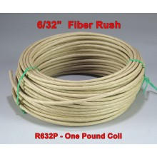 "6/32"" Fiber Rush - SOLD BY THE COIL"