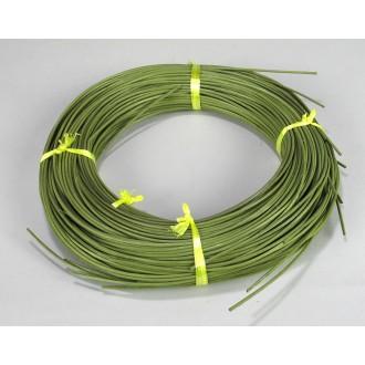 .5 lb. - No. 3 Round Moss Green DYED--1/2 lb. bundle