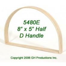 8 in. x 5 in. Half D Hoop