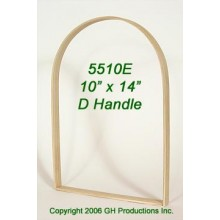 10 in. x 14 in. x 7/8 in. Market D Handle