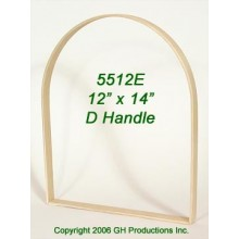 12 in. x 14 in. x 7/8 in. Market D Handle