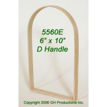 6 in. x 10 in. x 3/4 in. Market D Handle