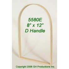 8 in. x 12 in. x 3/4 in. Market D Handle