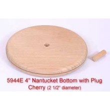 4 inch Nantucket Bottom with Plug