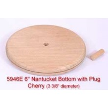 6 inch Nantucket Bottom with Plug
