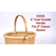 8 inch Oval Outside Handle fits 8 Classic Basket