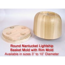 6 inch Nantucket Mold and Rim Mold TEMPORARILY OUT OF STOCK
