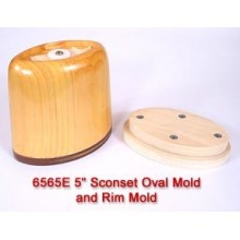 RENTAL 5 inch Sconset Oval Mold and Rim Mold per month