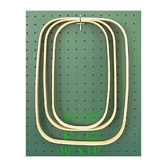 "10"" x 14"" x 7/8"" Rectangular Hoop"