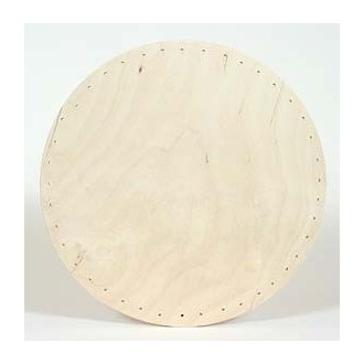 Drilled Base - 10 inch Round