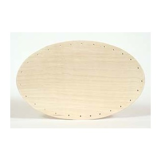 Drilled Base - 6 inch x 10 inch Oval