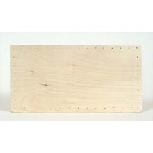 Drilled Base - 6 inch x 12 inch Rectangular