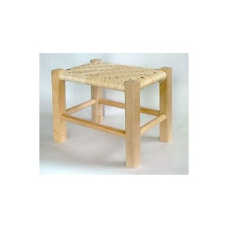 TEMPORARILY OUT OF STOCK Flat Reed Footstool Kit