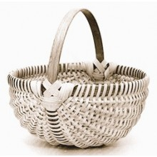 10 inch Melon Shaped Egg Basket Kit
