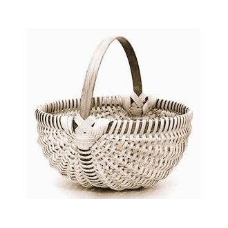 10 inch Melon Shaped Egg Basket Kit