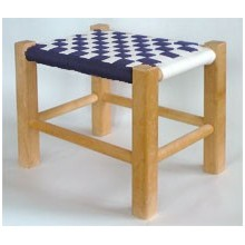 Footstool with Shaker Tape Kit