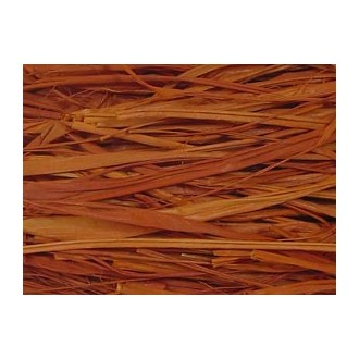 Rusty Brown Raffia 2 oz.