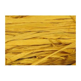Soft Golden Yellow Raffia 2 oz.