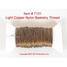 NYLON THREAD-Light Copper Brown