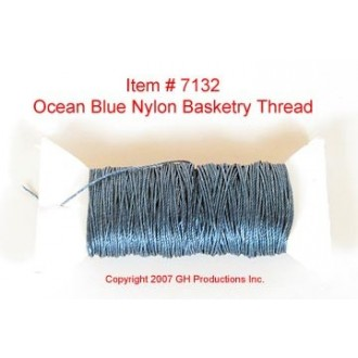 NYLON THREAD-Dark Ocean Blue - SUPPLY IS LIMITED