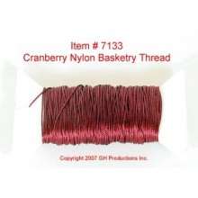 NYLON THREAD-Cranberry Red