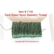 NYLON THREAD-Warm Dark Green