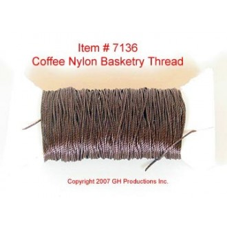 NYLON THREAD-Rich Coffee Brown