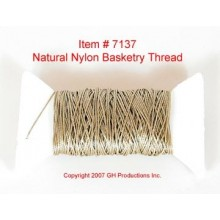 NYLON THREAD-Natural Beige