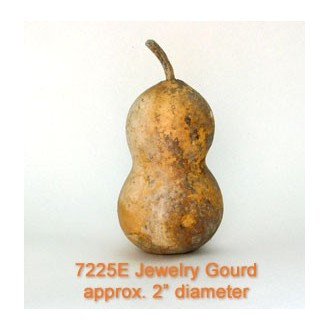 Jewelry Gourd Unwashed