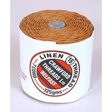 7-ply Butterscotch Waxed Irish Linen by the yard