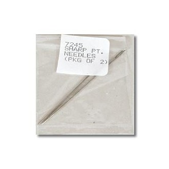 Sharp Point Needles - pkg. of 2
